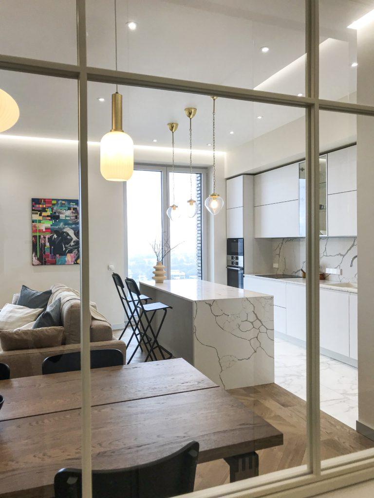 Реализация жилого пространства ЖК ЗИЛАРТ 129 м.кв.
